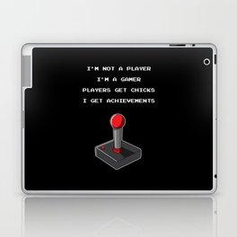 Funny Gamer Achievement Player Laptop & iPad Skin
