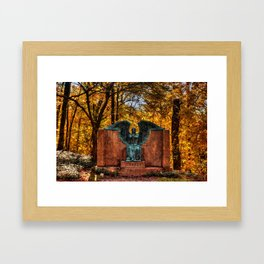 Angel of Death Victorious Framed Art Print