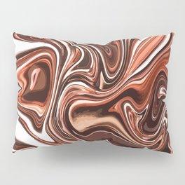 Liquid Golden Marble 011 Pillow Sham
