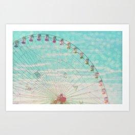 Sky Ride Art Print