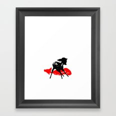 Man. Framed Art Print