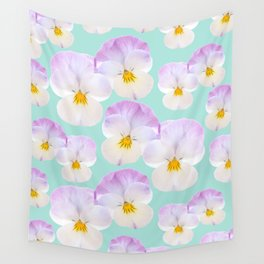 Pansies Dream #1 #floral #pattern #decor #art #society6 Wall Tapestry