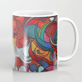 Farmyard Roosters Coffee Mug