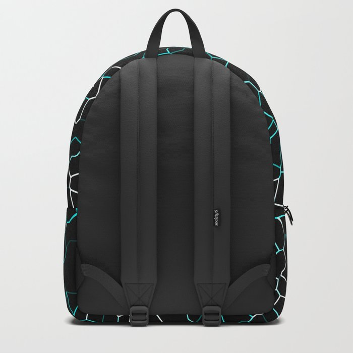 Aqua Crackle Backpack