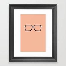 Glasses 2 Framed Art Print