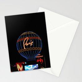 Paris in Las Vega Stationery Cards