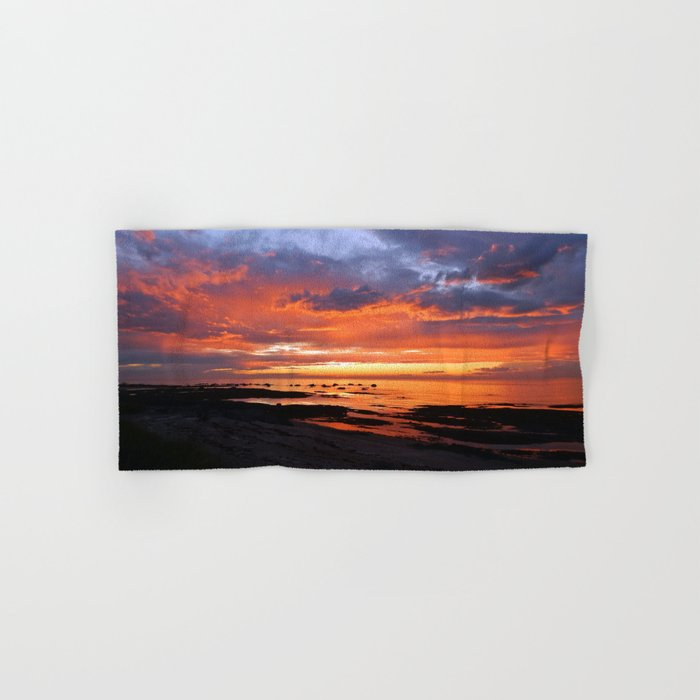 Stunning Seaside Sunset Hand & Bath Towel