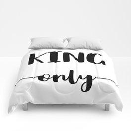 KING ONLY Comforters