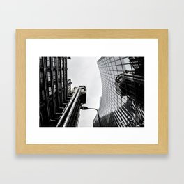 ArWork black white london art work photo Framed Art Print