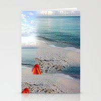 honda Stationery Cards featuring Bahia Honda by Ellen Turner