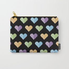polygons in my heart Carry-All Pouch