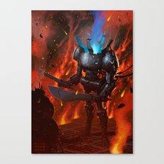 Robot II Canvas Print