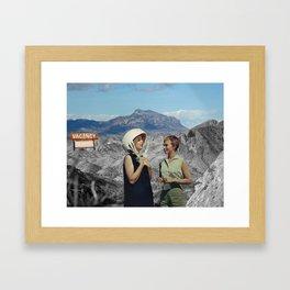 Vacancy Framed Art Print
