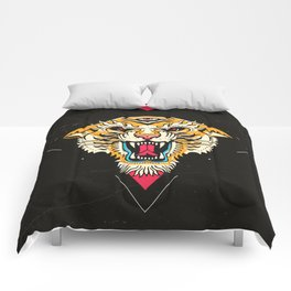 Tiger 3 Eyes Comforters