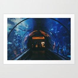 Mandalay Bay Casino and Aquarium Art Print