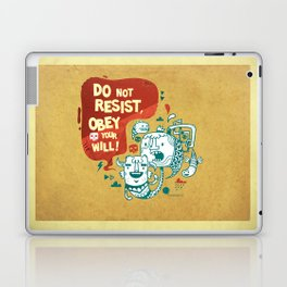 Obey your will Laptop & iPad Skin