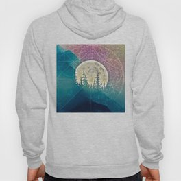 behind mountain Hoody