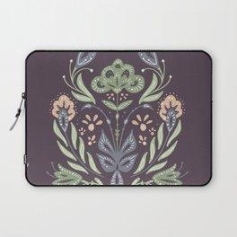 Folk Art Floral Bouquet Laptop Sleeve