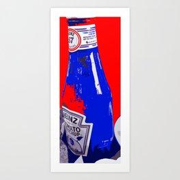 Heinz Ketchup Art Print