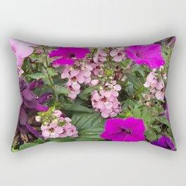Purple Blend Rectangular Pillow