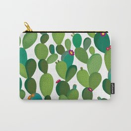 Cactus with flowers Carry-All Pouch