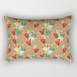 Vintage girls Rectangular Pillow