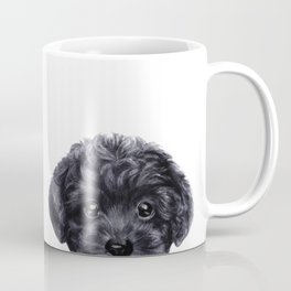 Toy poodle Blond & Black Coffee Mug