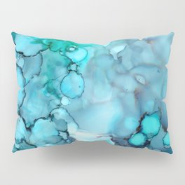 Daydreaming 2 Abstract Painting Pillow Sham
