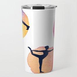Yoga Mats Most Important Yoga Poses - inner yogi yoga positions in one mat Travel Mug