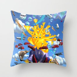 Bringer Of Happiness Throw Pillow