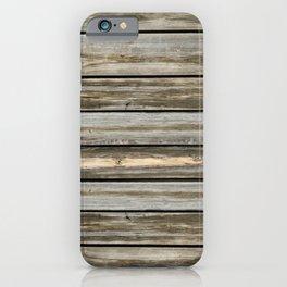 Aged Cedar iPhone Case