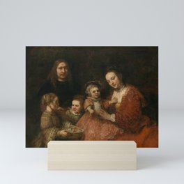Portrait of a Family Mini Art Print