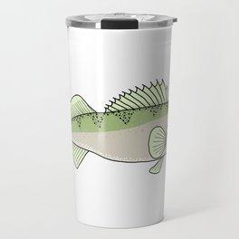 Walleye fish Travel Mug