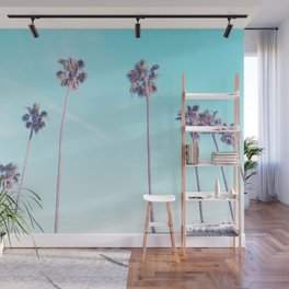 Palms Good Vibes Wall Mural