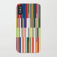 the national iPhone & iPod Cases featuring National Colors by Tom Davie
