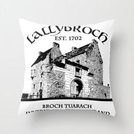 Lallybroch Outlander Throw Pillow