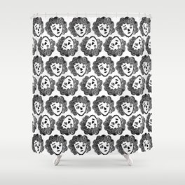 Critter Girl Shower Curtain