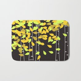Autumn Birches Bath Mat