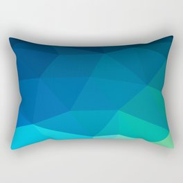 Blue 02 Rectangular Pillow