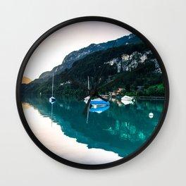 Iseltwald, Switzerland Wall Clock