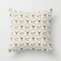 snoopy Throw Pillows featuring Snoopy by Neo Store