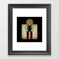 Renaissance Madonna Framed Art Print
