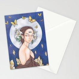 Lunar Awakening Stationery Cards
