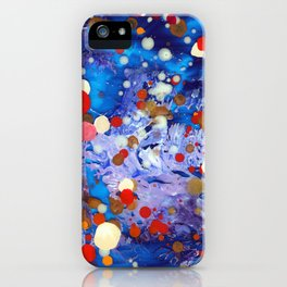 Abstract Reef iPhone Case