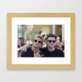 BENJI & FEDE Framed Art Print