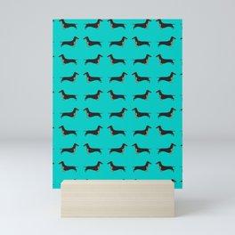 Black and Tan Dachshund Mini Art Print