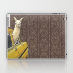 Taxi Llama Laptop & iPad Skin