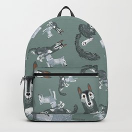 Totem Canadian wolf 2 Backpack