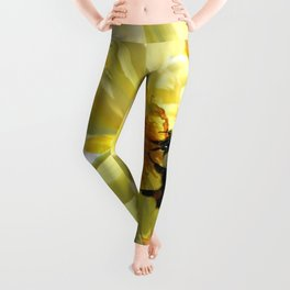 Busy Bumble Bee Leggings