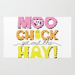 Moo Chick Rug